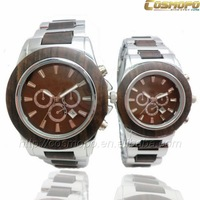 cosmopo pair wooden wrist watch 2014