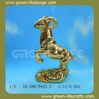 Bronze antique glass animal figurines