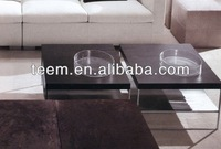 modern living room wooden coffee table alanda coffee tables