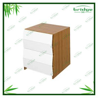 high quality hot sale classic bamboo stationary box documents bar storage box desk organizer stationery