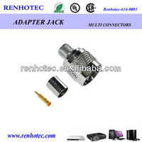 N Plug Crimp RG58 cable connector TNC welding cable connector