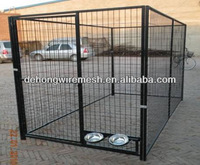 13*7.5*6 FEET steel large dog kennel china manufacture