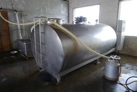 Dairy cooling tank for Fresh milk