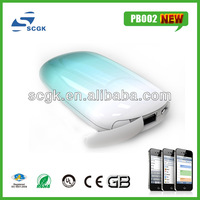new fashion design portable mobile power bank charger for blackberry 4000mah 4400mah 5200mah