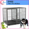 manufactured double modular dog crate for sale