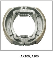 AX100 Motorcycle Brake Shoes Made In China