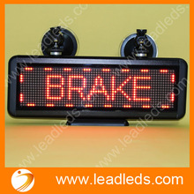 Perfect shop,car window advertisement led numbers display boards