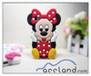 For Disney 3D Mickey Minnie Mouse Case for iPhone 5 Silicone Case Cover