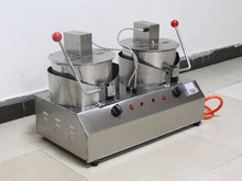 christmas hot sale double pan/single pan popcorn machine