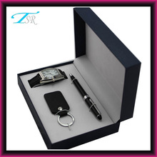 Pen keychain watch gift sets for Father's Day popular in France and America