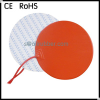 Custom Flexile Round Silicone Rubber Pad Heater 220V China Manufacturer