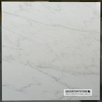 lows price white color marble floor tile