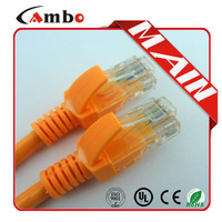 High quality spiral retractable coil network cat5e patch cable Unshielded RJ45 8P8C Modular Plug