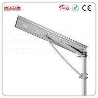 45w 6m high efficiency led lamp street lights with solar panels