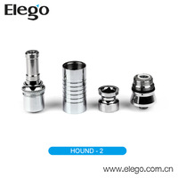 Replaceable Coils E Cigarette Dry Herb Vapor Hound Rebuildable Atomizer
