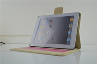 2014 the most competitive keyboard leather case for ipad 2/3/4