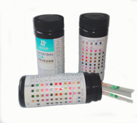 URS-10A urine dry chemical test strips for diabetics