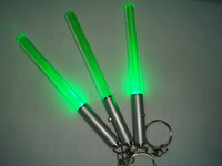 party supplying acylic led flashlight stick, colorful cheering led glowing up stick for concert