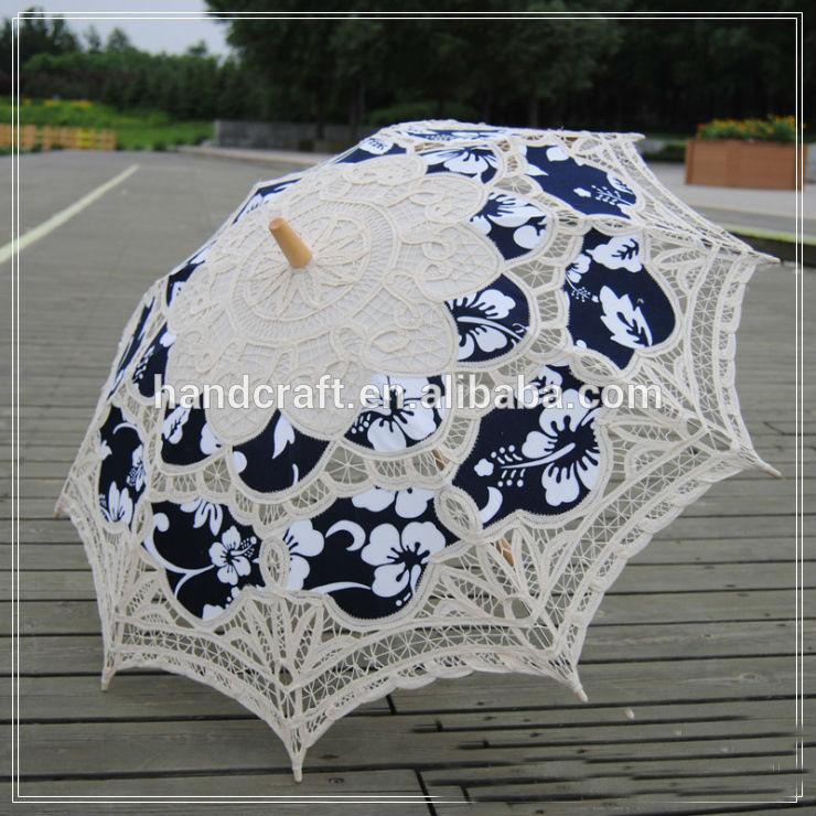 Как сделать кружевной зонтик от солнца своими руками