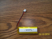 small size li-polymer battery 102060 voltage 3.7v high capacity 1200mah