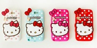 Silicone Hello Kitty case for Samsung Galaxy S3