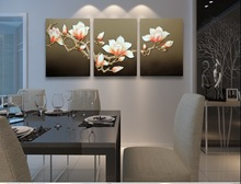 White Lily Flower Decorative Art Picture
