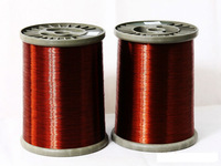 Aluminum enamelled winding wire