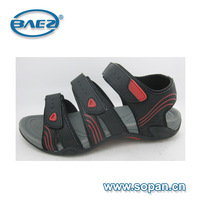 Good quality and latest printing men sandal with PU and MD outsole