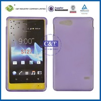 New arrival ! transparent phone case for sony ericsson aino u10i