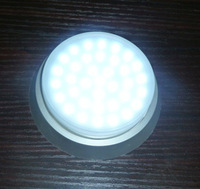 CE(LVD+EMC). ROHS, ERP led warm white/cool white/pure white3528SMD GX53 Spotlight bulb plastic socket 3W 4W