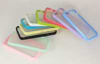 For iphone5 transperant hard pc case