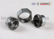 "union conical joint iron to iron seat pipe fittings (manufacturer) hot galvanized 1/8"" bs sjz hb cn cwd"