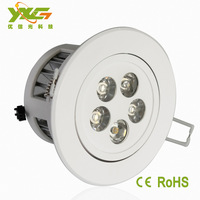 Factory outlet ABS +aluminum 5W warm white and cool white led kitchen ceiling lights