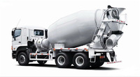 China manufacturer supply concrete mixer semi trailer/mixer truck/model cement mixer truck