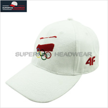 embroidered logo 6 panels 2012 fashionable sports cap