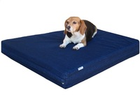 Orthopedic memory foam pet bed
