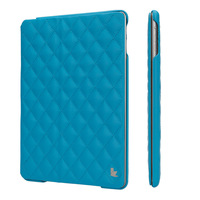 Quilted embroidering smart new case for ipad air 2 case