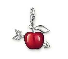 Fashion TS design the arrow of love red apple charm