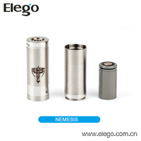 2014 Hot Selling Stainless Steel Nemesis Mechanical Ecig Battery Mod