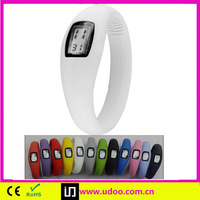 fashion ion silicone wrist watch band strap