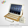 custom snap on tablet pc cover with Portable belt for iPad air