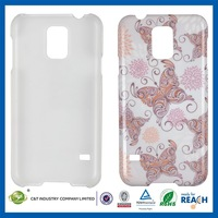 2014 new design custom sublimation for samsung galaxy s5 g9000 hard plastic case