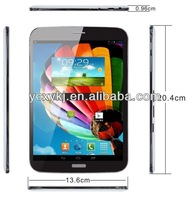 7.85 inch tablet pc Android 4.2.2 512 mb 2g/3g calling