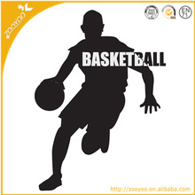 Wall sticker Vinyl Wall decal home decor decorative custom Wall sticker house Wallpaper home accessories basketball star