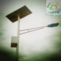 2014 New Solar Lights for Park,Garden,Factory,School,Hotel,Parking Lot, 6m Low Price of Solar Street Light