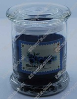 glass jar filling 1% scent