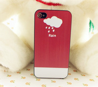 Coloring printing romantic mobile phone hard plastic case for iPhone 5s, fashion pc cell phone case for iphone5