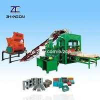 QTY4-25 hydraulic block machine with bamboo pallet