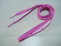 2014 new product cheap shoelaces with sport shoes logo