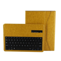 detachable leather wireless bluetooth keyboard for samsung galaxy note pro 12.2
